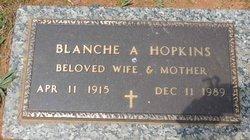 Blanche Irene <I>Amos</I> Hopkins