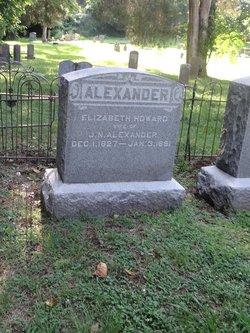 Elizabeth <I>Howard</I> Alexander