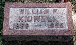 William F. Kidwell