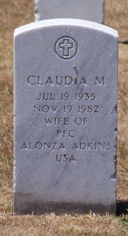 Claudia M Adkins