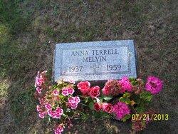Anna <I>Terrell</I> Melvin