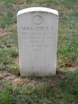 Marjorie E Dennis