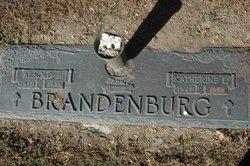 Katherine Louise <I>Duhr</I> Brandenburg