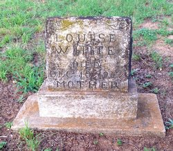 Louise <I>Jones</I> White