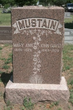 Mary Ann <I>Arnott</I> Mustain