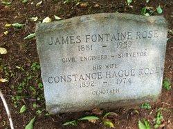 Constance <I>Hague</I> Rose