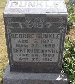 """Gertrude L. """"Gertie"""" <I>Hunt</I> Gunkle"""