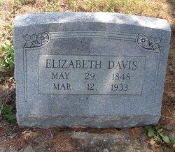 Elizabeth <I>Bond</I> Davis