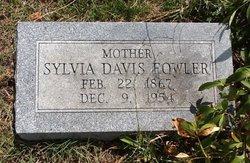 Sylvia Hannah <I>Rogers</I> Davis Fowler