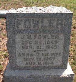 Anna Dora <I>Faulkner</I> Fowler
