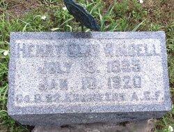 "Henry Clay ""Clay"" Windell"