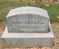 Emma <I>Coldwell</I> Black