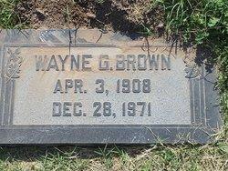 Wayne Gabbott Brown