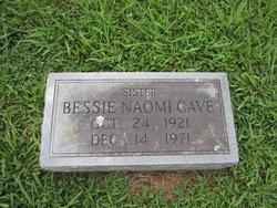 Bessie Naomi Cave