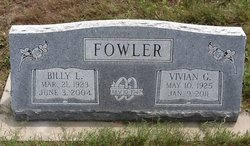 Billy L. Fowler