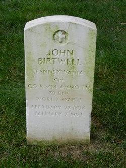 John Birtwell