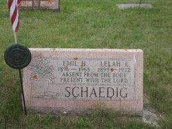 Lelah Elizabeth <I>Bruder</I> Schaedig