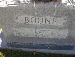 "Miles Nicholas ""Nick"" Boone"
