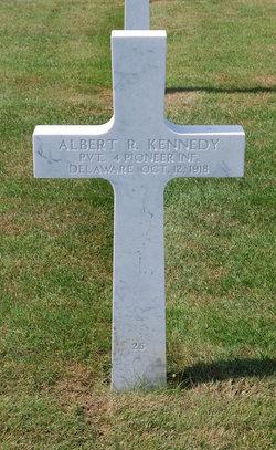 Pvt Albert R Kennedy