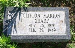 Clifton Marion Sharp