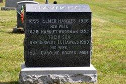 Harriet <I>Woodman</I> Hawkes
