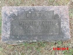 Edith M Clark