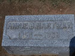 Annie B. <I>Bupp</I> Hartman