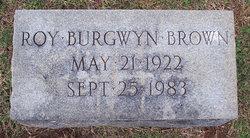 Roy Burgwyn Brown