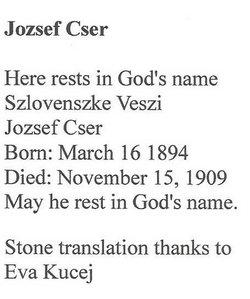Jozsef Cser