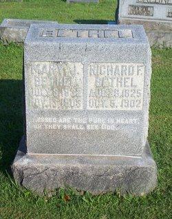 Mary Jane <I>Edmunds</I> Bethel