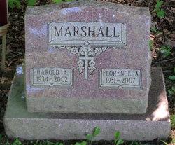 Florence Mary <I>Frazier</I> Marshall