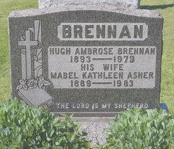Mabel Kathleen <I>Asher</I> Brennan