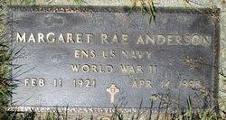 Ens Margaret Rae Anderson