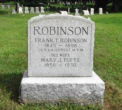 Mary J. <I>Tufts</I> Robinson
