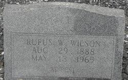 Rufus W. Wilson, Sr