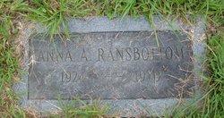 Anna A. Ransbottom