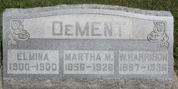 Martha M <I>Smith</I> DeMent