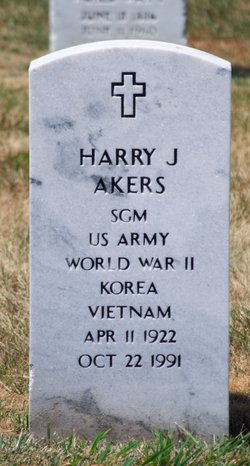 Harry James Akers