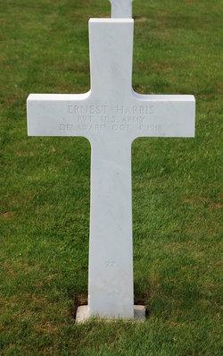 Pvt Ernest Harris
