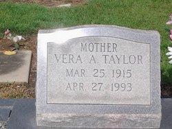 Vera <I>Annis</I> Taylor