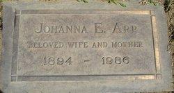 """Johanna Elizabeth """"Hanna"""" <I>Jesch</I> Arp"""