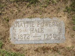 Hattie <I>Hale</I> Powers