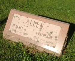 Janet Ethel <I>MacDougall</I> Allen