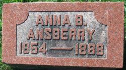 Anna R <I>Spangler</I> Ansberry