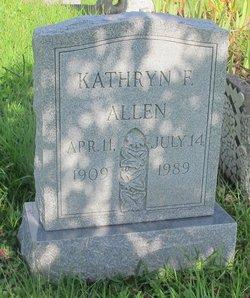 Kathryn F Allen