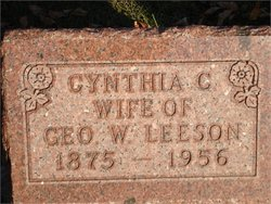 "Cynthia Mae ""Christine"" <I>Massie</I> Leeson"
