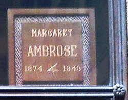 Margaret <I>McKenzie</I> Ambrose