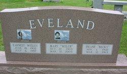 Mary Almeida <I>Welch</I> Eveland