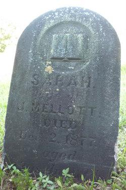 "Sarah ""Sally"" <I>Mellott</I> Mellott"