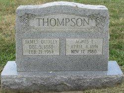 Mary Agnes <I>Lawrence</I> Thompson